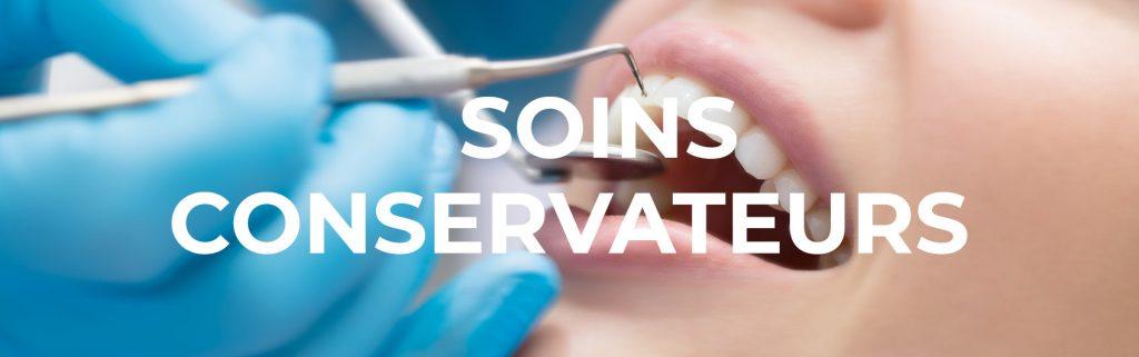 Traitement endodontique et les soins conservateurs